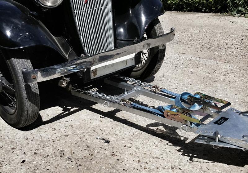 Rolling camera car | A-frame