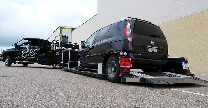 Rolling camera car | Process trailer